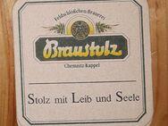 Feldschlösschen - Brauerei Chemnitz Kappel BD Bierdeckel - Nürnberg