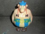 Obelix Spardose Deutsche Bank 1974 Schlüssel Asterix Comic - Bottrop