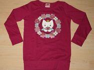 Mädchen Pullover Katze Pulli Kinder Langarm Sweatshirt Longsleeve Langarmshirt pink Gr. 116 NEU - Sonneberg