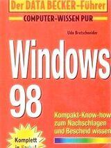 Der Data Becker Führer – Windows 98