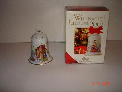 Biete Hutschenreuther Weihnachtsglocke 2002 - Schauenburg