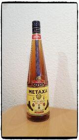 METAXA 5-Sterne ***** CLASSIC – THE GREEK SPIRIT 1,0 Liter 2003