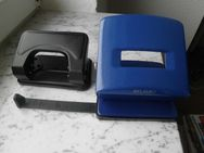 2 Locher Herlitz+Flambo blau schwarz Metall zus. 5,- - Flensburg