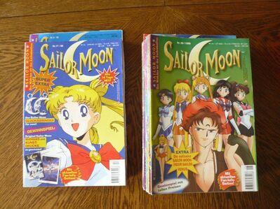 Sailor Moon Hefte zur Serie - Immenhausen