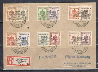 DE-Finsterwalde Lokalausgabe 27.03.1946,  MI:DE 1-12 ,Lot 610 -