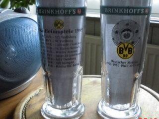 BVB 09 Dortmund Krüge 1996 DFB Hallen Pokal 1999 - Bottrop