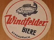 Windfelder Biere Stegaurach (b.Bamberg) Oberfranken Bierdeckel BD - Nürnberg