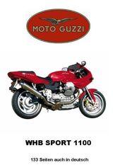 Werkstatthandbuch für Moto Guzzi Sport 1100 in deutsch !