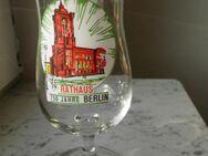 Bierglas 750 Jahre Berlin Rathaus Glas Pilstulpe Souvenir 1987 3,- - Flensburg
