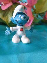 20003 Mond-Schlumpf Peyo, 7, Bully W.Germany / astro Smurf / Schlumpf Sammler