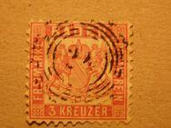 Baden 3 Kreuzer,1862-66,Mi.Nr.18,Lot 340