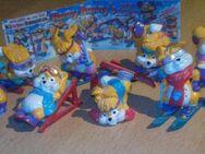 """Ü-Eier """" Hanny Bunny's """" lustige Ski Hasen Erscheinungsjahr 1996 - Verden (Aller) Zentrum"""