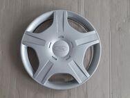 Radkappe Radzierblende Radblende Einzelradkappe für Ford Focus 1 / Ford Focus Turnier / Ford Fiesta 6 / Ford Fusion JU3 14 Zoll 1 Stück Sehr guter Zustand - Bochum