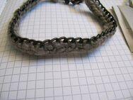 REPLAY, Armband, Stoff Metall Kette geflochten, 26cm, UVP: 49€ - Düsseldorf