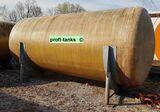 P55 Polyestertank 15.000 L GFK-Tank Juno Tank oberirdisch Wassertank Regenauffangtank Zisterne Futtermitteltank Rapsoeltank Molketank Lagerbehälter
