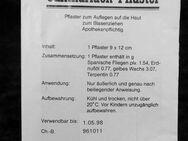 Gebrauchsanweisung für Cantharidenpflaster - Niederfischbach