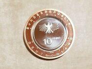 10 Euro Deutschland Polymerring Gedenkmünze An Land 2020-D,Lot 832 - Reinheim