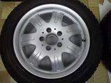 1 Satz Winterräder SLK R170 und R171 Mercedes Benz 7 Speichen Leichtschmiedefelgen 16 Zoll ( 7 x 16 ET 34 mm )