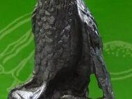 Vogel Eule auf Holzstamm aus Zinn für Setzkasten - Spraitbach