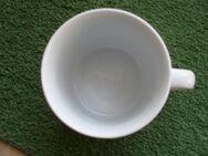 Rhön Porzellan Stadtlengsfeld Thuringia Tasse Becher Henkelbecher Kaffeebecher weiß 2,50 - Flensburg