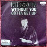 Single: Without you - Nilsson auf Vinyl