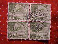 Schweiz,2x4er Block 23.04.1957,Mi:CH D65+D68,  Lot 296