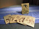 Antikes Kartenspiel Heiteres Frage- und Antwort-Spiel, ca.1900 / Sammler