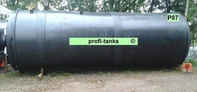 P87 gebrauchter 33.000 Liter Polyethylen-Tank PE-Tank Kunststofftank Chemietank Industrietank Wassertank Rapsöltank Futtermitteltank Gülletank - Nordhorn