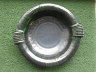 Keramik Schale 553 Griffschale Obstschale grün Retro Vintage Deko 5,- - Flensburg