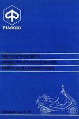 Werkstatthandbuch Vespa Hexagon LX + LXT 125 - 180 cm³