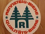 Rennsteig Biere Qualitäts Biere Bierdeckel BD Bierfilz - Nürnberg