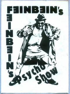 Feinbein's Psycho Show - Sticker - Niddatal Zentrum