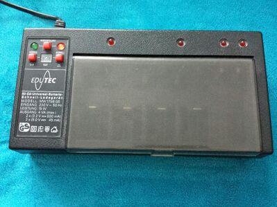 Batterie Ladegerät mit Schnellladung - Kassel