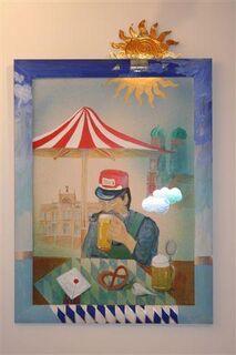 Zimmermann 4 Gemälde von Leonore Zimmermann - Erding