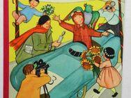 Hanselmann hat große Pläne. Ein Bilderbuch mit Versen von James Krüss und Bildern von Katharina Maillard. Stalling Bilderbuch Nr. 124. - Königsbach-Stein