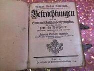 Antikes Buch J.G. Reinbecks Betrachtungen d. Sonn u. Festtägl. Evangelien 1754 - Zeuthen