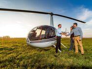 Hubschrauber-Rundflug Rostock | Helikopterflug über Heiligendamm – Warnemünde – Fischland – Rügen - Laage