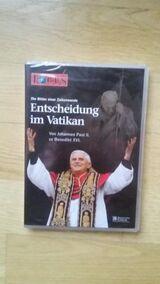 Entscheidung im Vatikan. Von Johannes Paul II. zu Benedikt XVI. - DVD v. 2005. FOCUS Magazin