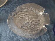 Glas Servierschale in Fischform