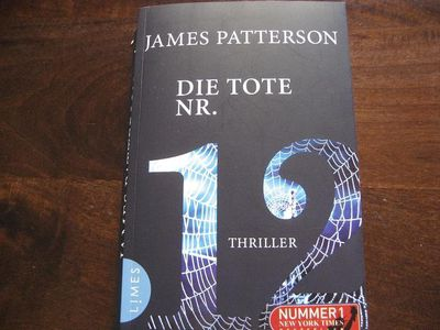 12  Bücher, James Patterson Women´s Murder Club, Die Tote Nr. 12 - Baunatal Zentrum