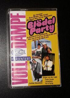 Blödel Party VOLLDAMPF MC Schlager 1989 - Nürnberg