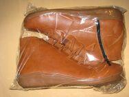 Stiefel, Damen, Schuhe mit flachem Absatz, braun, Gr. 39, Neuware - Sehnde