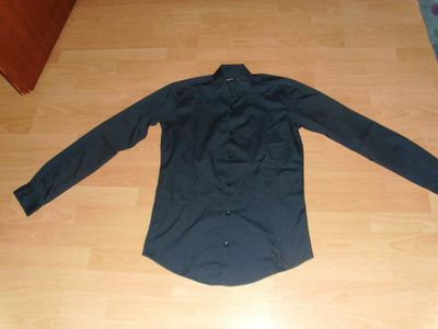 Hemd von Cedarwood, dunkelblau, Gr. S - Bad Harzburg