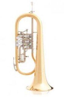 B & S Konzert Flügelhorn aus Goldmessing. Mod. 3017/2TR-L. Neuware - Hagenburg