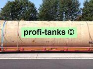 GS16 gebrauchter 30.000 L Erdtank Stahltank Löschwasserbehälter Zisterne Löschwassertank Regenauffangbehälter unterirdischer Lagertank außen mit Bitumen - Nordhorn