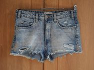 ZARA Vintage DENIM COLLECTION kurze Jeans Hot Pants Shorts blau - Nürnberg