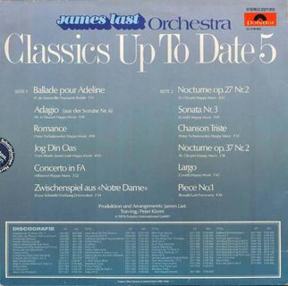 Schallplatte Vinyl 12'' LP - James Last Orchestra - Classics Up To Date Vol. 5 - Königs Wusterhausen