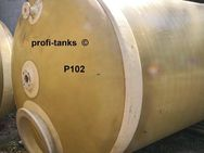 P102 gebrauchter 10.000 L Polyestertank GFK-Tank vertikal stehend Wassertank Rapsöltank Regenauffangtank Flüssigfuttertank Molketank Zisterne - Nordhorn