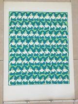 """Siegfried Neuenhausen """"Busenfrauen"""", Farbige Serigrafie 1968"""