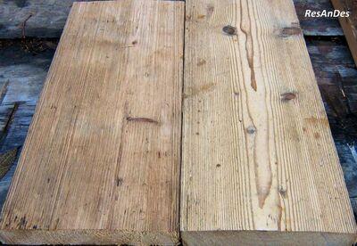 Holzdielen, Alholzdielung, Dielenboden, Dielen, Fußboden Bretter, - Herrnhut Zentrum